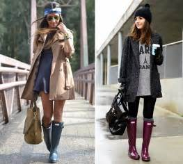 How to wear rubber rain boots fashionisers