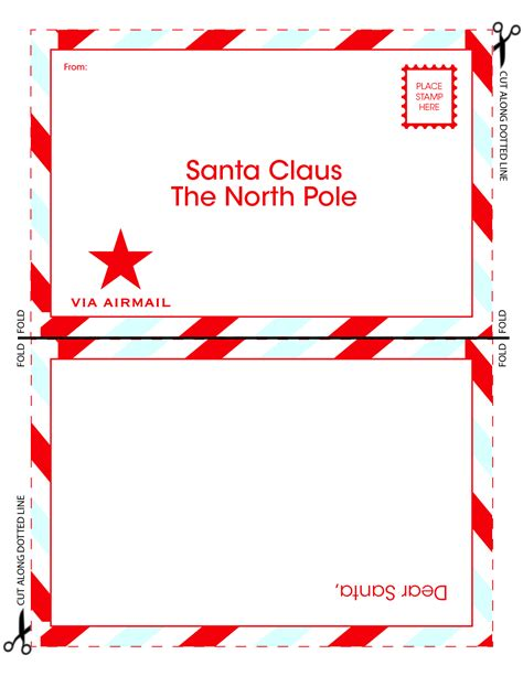 santa claus template 8 best images of santa claus letter template printable