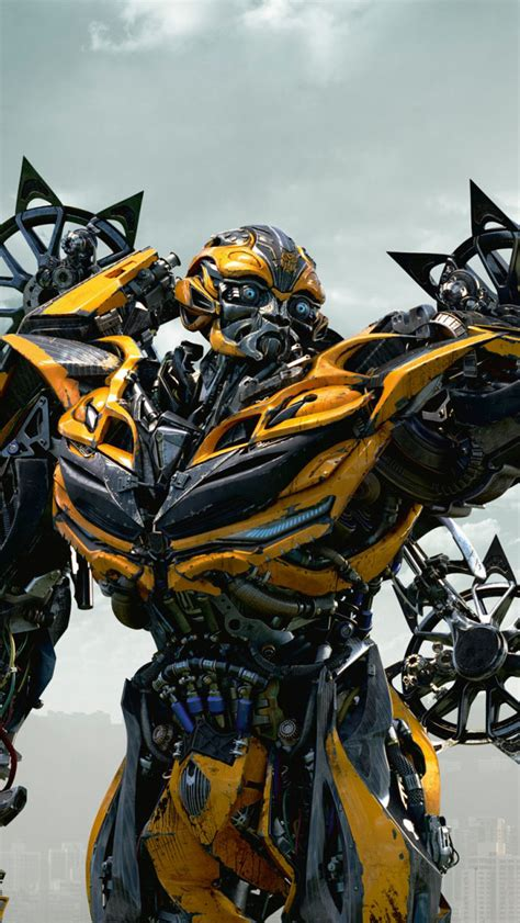 wallpaper iphone 5 transformer bumblebee in transformers 4 age of extinction wallpaper