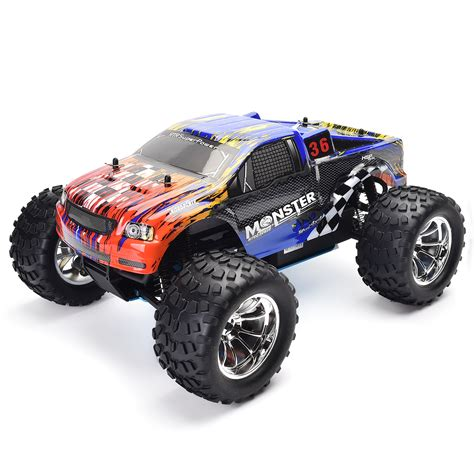 truck nitro hsp 1 10 scale rc truck models nitro gas power road