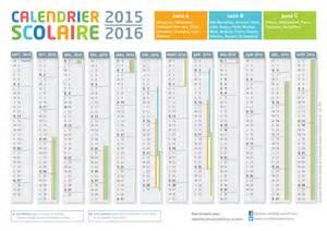 Calendrier 2016 Avec Vacances Scolaires Zone B à Imprimer Cr 233 Er Un Calendrier De L 233 E Scolaire 2015 2016 224