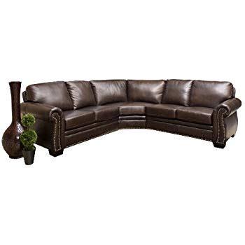 venezia leather sectional and ottoman abbyson living venezia sectional reviews amazon com