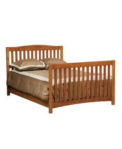 Convert Crib Monterey Conversion Crib Amish Direct Furniture