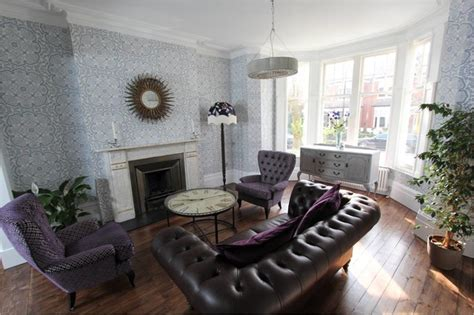 muswell hill  victorian terraced house living room london  increation