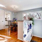 interiors craftsman dining room portland  full