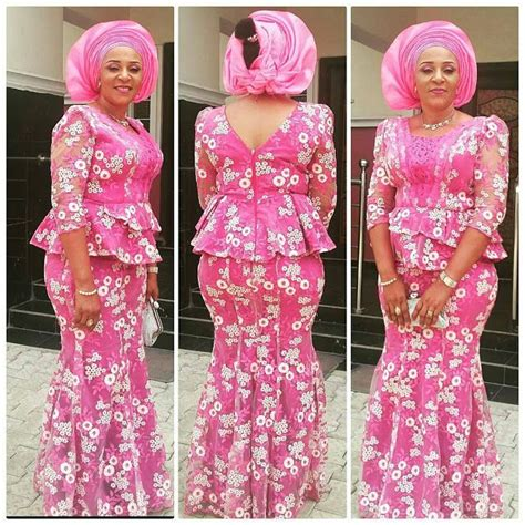skirt and blouse style with cord lace beautiful lace skirt and blouse styles for owambe rockers