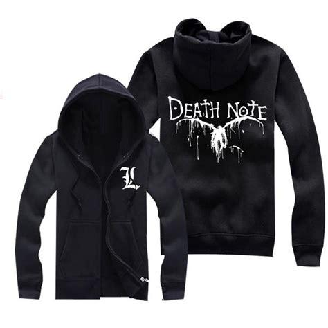 Jaket Sweater Hoodie Jumper Resident Evil note l lawliet logo sweater shirt jacket coat hoodie