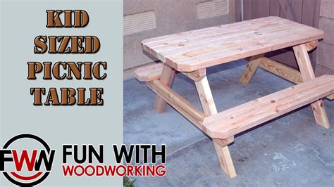 how to build a child s desk project how to build a kid sized picnic table out of 8