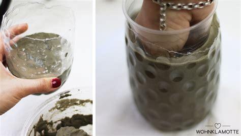 beton vase selber machen diy vasen aus beton einfach selber machen