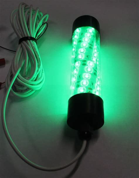 underwater green led fishing lights 12v led green underwater submersible night fishing light