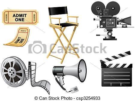 drawings of film industry attributes film industry