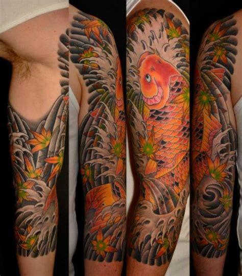 tattoo japanese carp tatuajes koi japones