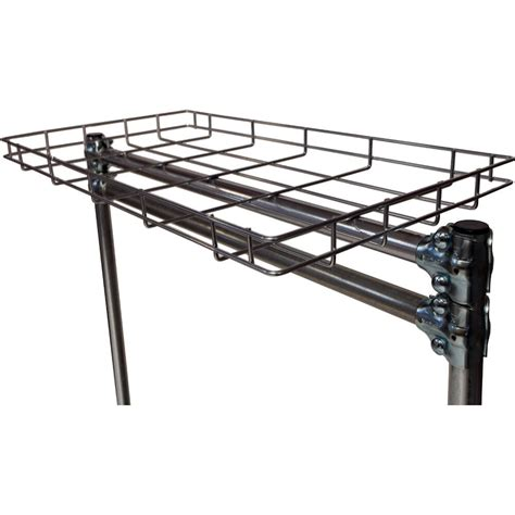 quality fabricators silver 36 quot top wire shelf for clothes