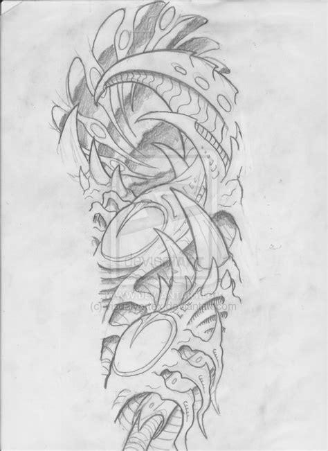 biomechanical tattoo line drawing 1000 images about biomechanical on pinterest samurai