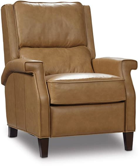 beige leather recliner easley beige leather recliner from hooker coleman furniture