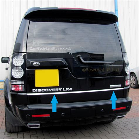 chrome land rover land rover discovery 3 4 bright rear door chrome tailgate