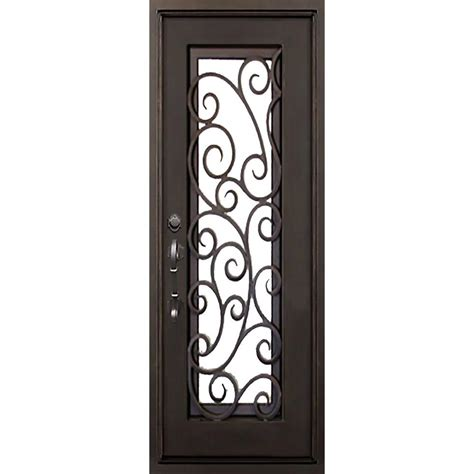 Florida Door by Florida Iron Doors 40 In X 82 In Lauderdale Bronze