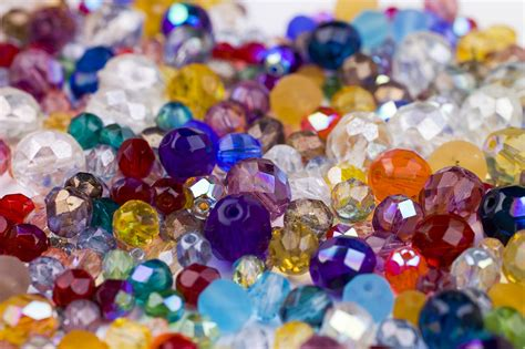 traditional seed bead mixes polished