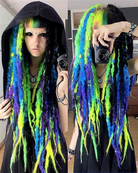 faux dreads in las vegas 1000 images about colourful hair inspiration on pinterest