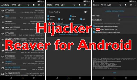tutorial android wifi hijacker reaver for android wifi hacker app tutorial