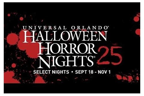 halloween horror nights deals