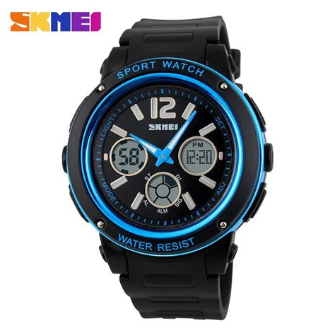 Jam Tangan Skmei 1155 Waterproof Digital Analog 100 Original Murah skmei jam tangan analog digital pria ad1051 black blue jakartanotebook