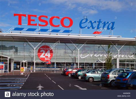 Tesco Extra super store outlet Portwood Stockport Cheshire