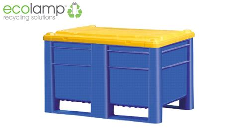 bulb storage containers new sl1200 pallet box electrical electronic waste