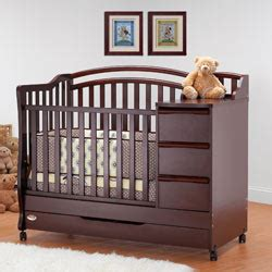 Mini Crib With Changer by Mini Crib N Bed With Changer