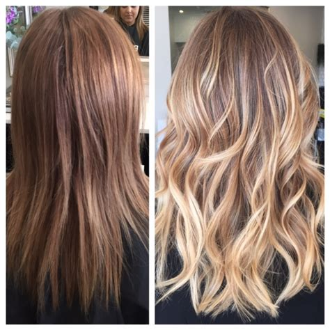 dimensional hair color transformation block color to dimensional career