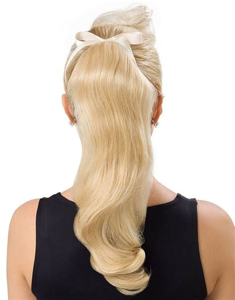 white hair clip in extensions irresistibleme hair extensions white ponytail
