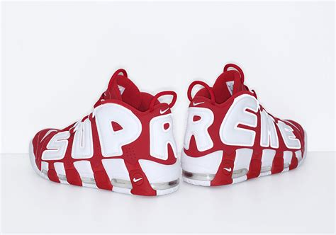 supreme x nike air more uptempo get official release date unbiased writer