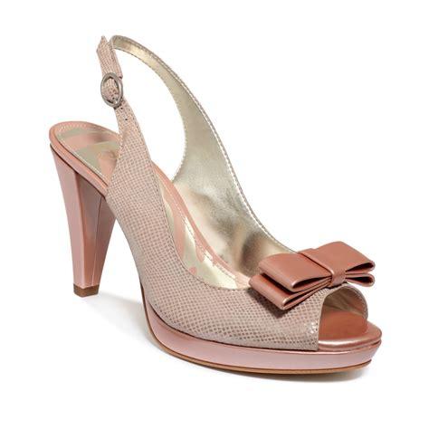 light pink platform heels anne klein europa platform pumps in pink light pink lyst