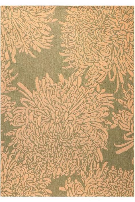 Martha Stewart Living Chrysanthemum All Weather Rug Cheap Outdoor Area Rugs