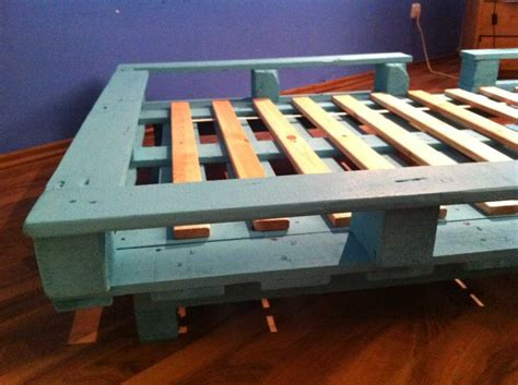 bett selber bauen 140x200 pallet bed single bed made from pallets pallet