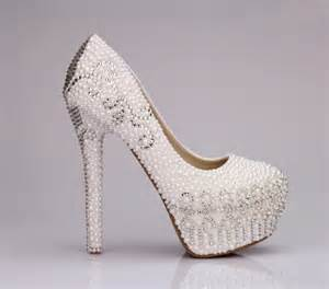 wedding shoes heels bridal wedding shoes high heel 2014 trendy mods