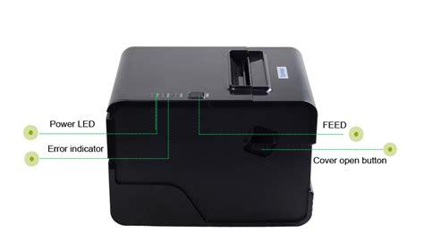 Printer Qr Code ta c260n 80mm thermal printer qr code printer used laser