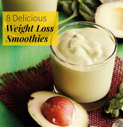 7 Ultra Slimming Smoothies by 8 Delicious Weight Loss Smoothies Fitness Magazine