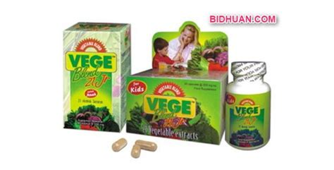 Vitamin Vegebland Junior Suplemen Vegeblend Komposisi Manfaat Cara Konsumsi