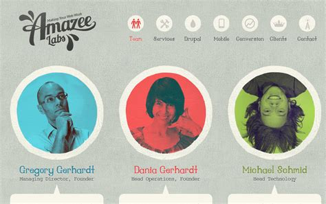 Creating Creative ?Meet The Team? Pages (With 13 Awesome