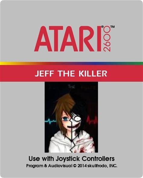 the killer box jeff the killer atari box cover by skullfrodo
