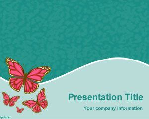 butterfly themes for powerpoint 2010 butterflies species powerpoint template ppt template