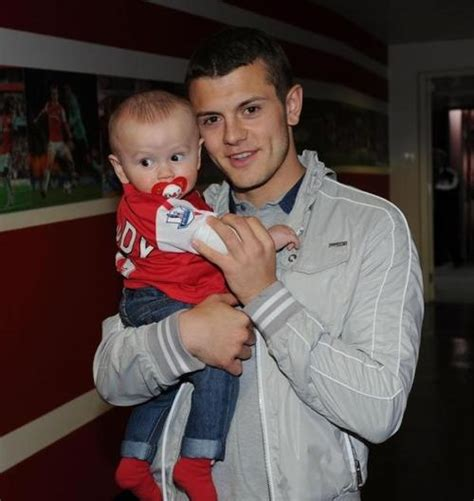 jack wilshere baby jack wilshere and his son archie daddy and baby images