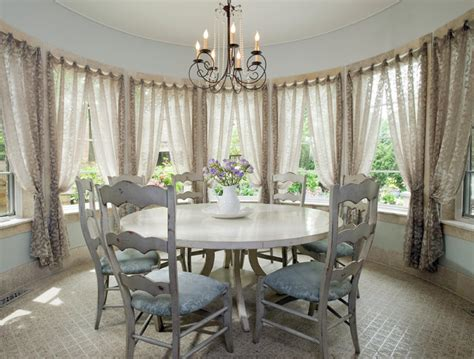 Houzz Informal Dining Room Casual Chic Dining Traditional Dining Room Chicago