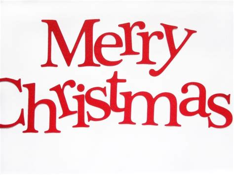 Die Cut Letters Merry Christmas Die Cut Letters Letters For Free Merry Letter Template