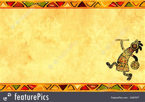 templates grunge background with african traditional