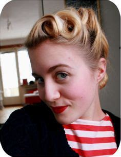 quick and easy retro hairstyles 1000 images about v is for victory rolls on pinterest