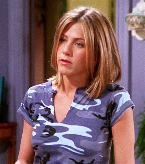 rachel green season 3 hair 17 best images about jennifer aniston in blue on pinterest