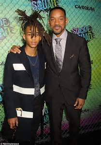 will smith is joined by his lookalike jaden at the