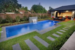 Pool Ideas For A Small Backyard Small Backyard Ideas With Pool Concept Landscaping Gardening Ideas